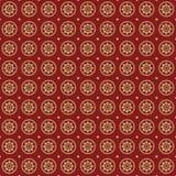 Het naadloze retro patroon van sterren. Royalty-vrije Stock Foto's