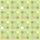 Het naadloze retro textiel geruite patroon van de textuurplaid backgroun Stock Fotografie
