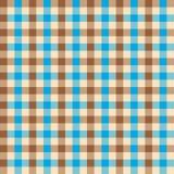 Het naadloze textielpatroon van de gingang uitstekende stof De achtergrond van de gingangcontrole vector illustratie