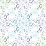Het naadloze uitstekende patroon van de lijnkunst royalty-vrije illustratie