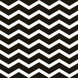 Het naadloze uitstekende patroon van de zigzagchevron Het herhalen van geometrisch malplaatje Eps 10 vector illustratie