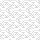 Het naadloze uitstekende stammenpatroon van Toraja Etnische vectortextuur S Royalty-vrije Stock Fotografie