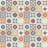 Het naadloze vector Japanse geometrische ontwerp van het tegelpatroon Ontwerp voor dekking, tegels, verpakking, textiel vector illustratie