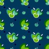 Het naadloze vectorpatroon van Apple Royalty-vrije Stock Afbeelding