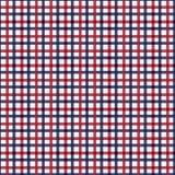 Het naadloze vectorpatroon van de geruit Schots wollen stofplaid Keperstoftextuur in strepen van donkerrood, helder rood blauw op vector illustratie