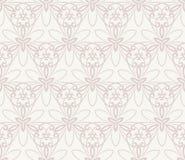 Het naadloze vectorpatroon van het damast Voor gemakkelijk makend naadloos patroon enkel om al groep te slepen in monstersstaaf,  Royalty-vrije Stock Afbeelding