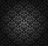 Het naadloze vectorpatroon van het damast Voor gemakkelijk makend naadloos patroon enkel om al groep te slepen in monstersstaaf,  Stock Afbeelding