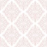 Het naadloze vectorpatroon van het damast Voor gemakkelijk makend naadloos patroon enkel om al groep te slepen in monstersstaaf,  Stock Afbeeldingen