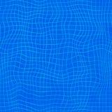 Het naadloze water van het patroon zwembad vector illustratie