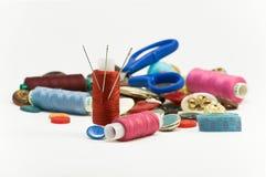 Het naaien. Stock Afbeeldingen