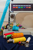 Het naaien Stock Foto