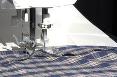 Het naaien in Actie royalty-vrije stock foto