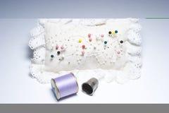 Het naaien Dingen Stock Foto