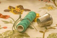 Het naaien en borduurwerk Stock Foto
