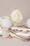 Het naaien en de Uitrusting van de Borduurwerkambacht Makende Toebehoren royalty-vrije stock afbeelding