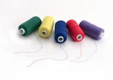 Het naaien en naald Stock Foto's