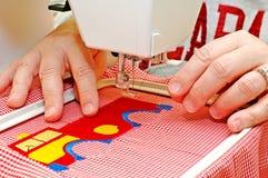 Het naaien Reeks Stock Afbeelding