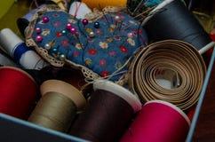 Het naaien reeks Stock Afbeeldingen