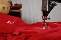Het naaien Reparaties Stock Foto