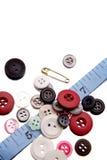 Het naaien stilleven stock afbeelding