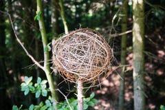Het naar huis Gemaakte Spheric Takje tuiniert Decoratie royalty-vrije stock foto
