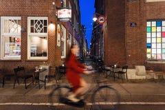 Het nachtleven van Amsterdam Royalty-vrije Stock Afbeelding