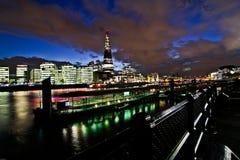 Het Nachtleven van Londen Stock Foto