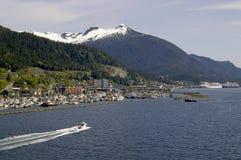 Het naderbij komen Ketchikan Alaska stock fotografie