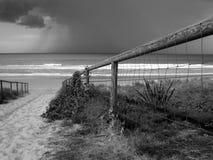 Het naderbij komen van het onweer Stock Foto's