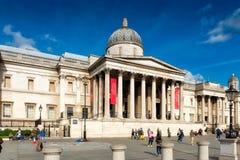 Het National Gallery Londen Royalty-vrije Stock Afbeeldingen