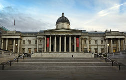 Het National Gallery in Londen Stock Fotografie