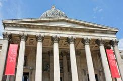 Het National Gallery Londen Stock Afbeeldingen