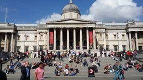 Het National Gallery Londen Stock Foto's