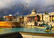 Het National Gallery Londen Stock Fotografie