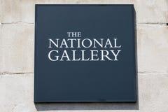 Het National Gallery in Londen Royalty-vrije Stock Fotografie