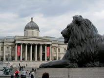 Het National Gallery van Londen Royalty-vrije Stock Afbeeldingen