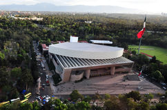 Het Nationale Auditorium van Mexico-City - Mexico Stock Afbeeldingen