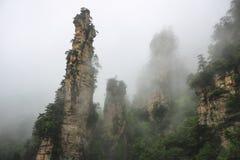 Het Nationale BosPark van Zhangjiajie Stock Foto's
