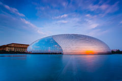 Het Nationale Centrum van China voor de Uitvoerende kunsten Stock Foto