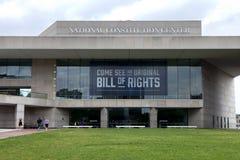 Het nationale Centrum van de Grondwet Royalty-vrije Stock Foto
