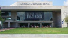 Het nationale Centrum van de Grondwet in Philadelphia Stock Fotografie