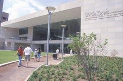 Het nationale Centrum van de Grondwet voor de Grondwet van de V S Grondwet op Onafhankelijkheidswandelgalerij, Philadelphia, Penn Royalty-vrije Stock Fotografie