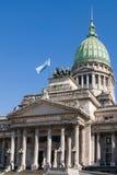 Het nationale Congres in Buenos aires Royalty-vrije Stock Foto's