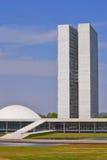 Het nationale Congres van Brazilië Royalty-vrije Stock Afbeeldingen