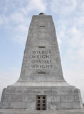 Het Nationale Gedenkteken van de Broers van Wright Stock Afbeeldingen