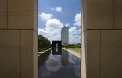 Het Nationale Gedenkteken van de Stad van Oklahoma Stock Foto's