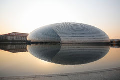 Het Nationale Grote Theater van China Stock Afbeeldingen