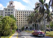 Het Nationale Hotel Havana Cuba stock fotografie
