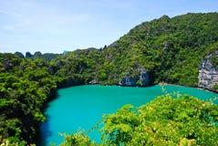 Het nationale Mariene Park van Angthong Stock Fotografie