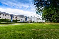 Het Nationale Maritieme Museum NMM in Greenwich, Londen, is het belangrijke maritieme museum van het Verenigd Koninkrijk royalty-vrije stock fotografie